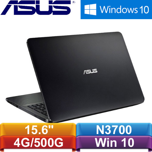 ASUS華碩 X554SJ-0027KN3700 15.6吋筆記型電腦