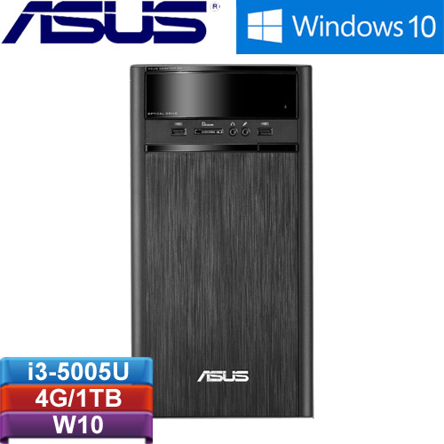 【網購獨享優惠】ASUS華碩 K31CLG-0061A505GTT 桌上型電腦