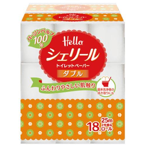 【網購獨享優惠】★日本原裝★【量販組】Hello 捲筒衛生紙 114節X18捲6袋