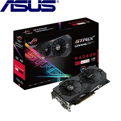 ASUS華碩 STRIX-RX470-O4G-GAMING 顯示卡