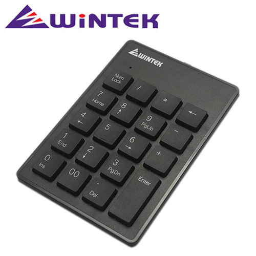 WiNTEK 文鎧 小天使數字鍵盤 TK90 黑