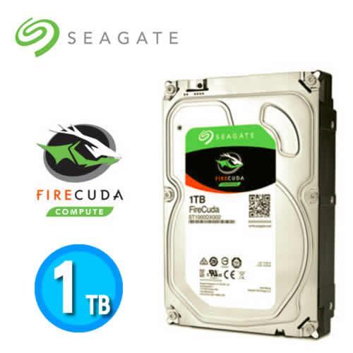 Seagate FireCuda Desktop SSHD 3.5吋 1TB 桌上型固態混合式【下殺100↘限量10顆】
