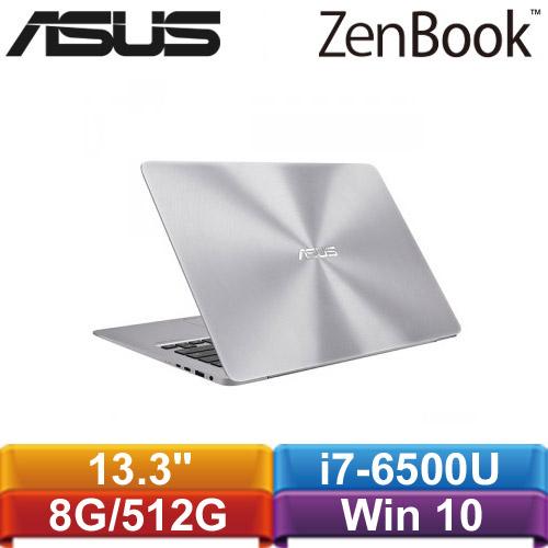 ASUS華碩 ZenBook UX330UA-0041A6500U 13.3吋筆記型電腦 金屬灰