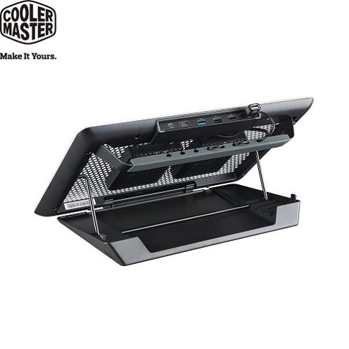 Cooler Master MasterNotepal Maker 創客全鋁支架式筆電散熱墊