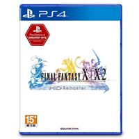 【客訂】PS4遊戲《Final Fantasy X+X-2 Remaster》中文版