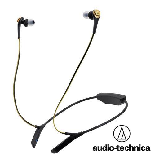 鐵三角 ATH-CKS550BT (黑金色)藍牙無線耳機麥克風組