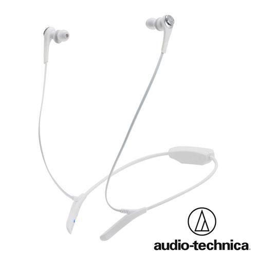 鐵三角 ATH-CKS550BT (白色)藍牙無線耳機麥克風組