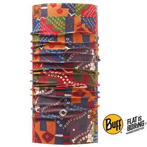 《BUFF》花布拼接 經典頭巾BF108850
