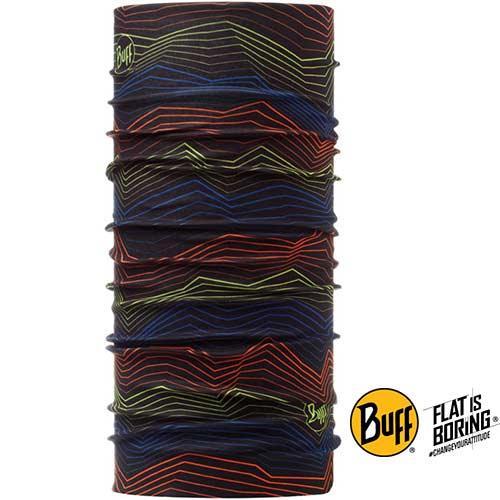 《BUFF》山型電波 經典頭巾BF107879