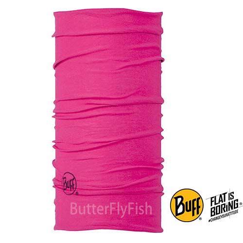 《BUFF》野豔桃紅 經典頭巾BF100650