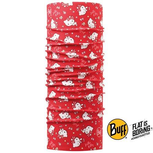 《BUFF》兒童頭巾-Hello Kitty授權俏皮凱蒂BF110926