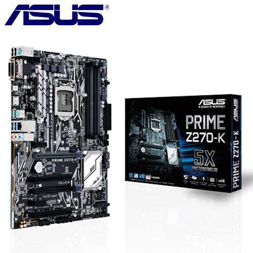 ASUS華碩 PRIME Z270-K 主機板