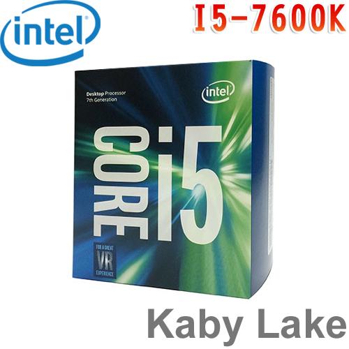 Intel英特爾 Core i5-7600K 中央處理器