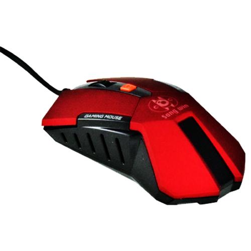 尚之宇 遊戲玩家專業滑鼠 紅