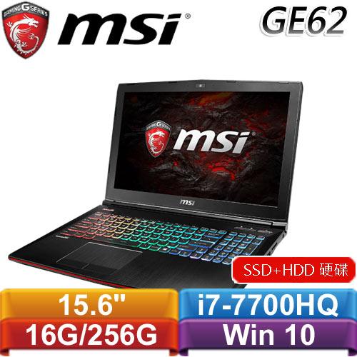 MSI微星 GE62MVR 7RG-005TW 15.6吋筆記型電腦