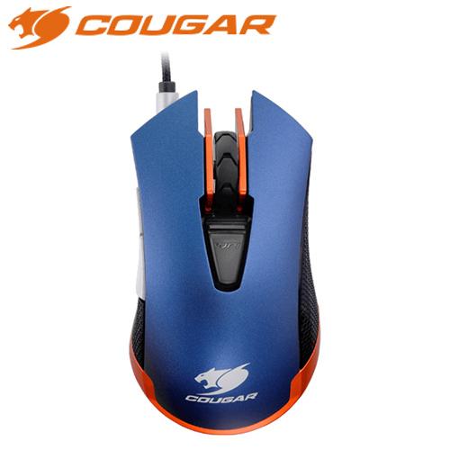 COUGAR 美洲獅 550M 電競滑鼠 鋼鐡藍