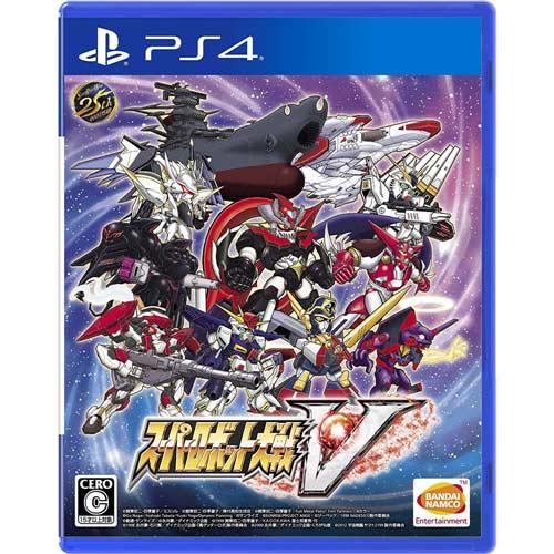 【預購品】PS4遊戲《超級機器人大戰V》中文版