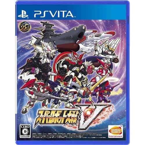 【預購品】PSV遊戲《超級機器人大戰V》中文版