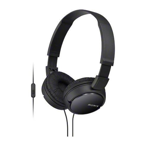 SONY 手機通話耳罩式耳麥 MDR-ZX110AP-B 黑