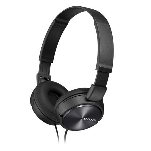 SONY 無麥耳罩式耳機 MDR-ZX310-B 黑
