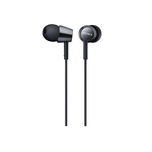 SONY 無麥耳道式耳機 EX150-B 黑