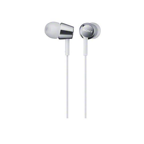 SONY 無麥耳道式耳機 EX150-W 白