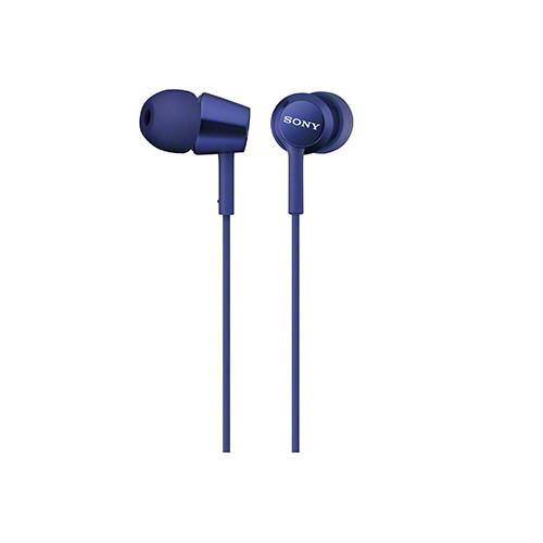 SONY 無麥耳道式耳機 EX150-LI 深藍