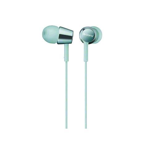 SONY 無麥耳道式耳機 EX150-L 淺藍
