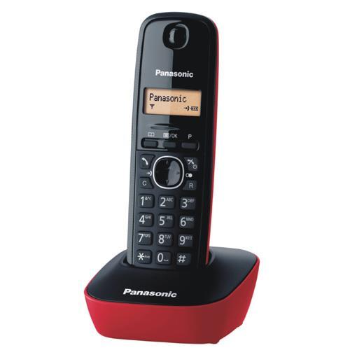 Panasonic 國際牌 數位無線電話 KX-TG1611 紅