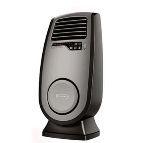 【美國Lasko】BlackHeat 黑麥克 3D熱波渦輪循環暖氣流多功能陶瓷電暖器 CC23152TW
