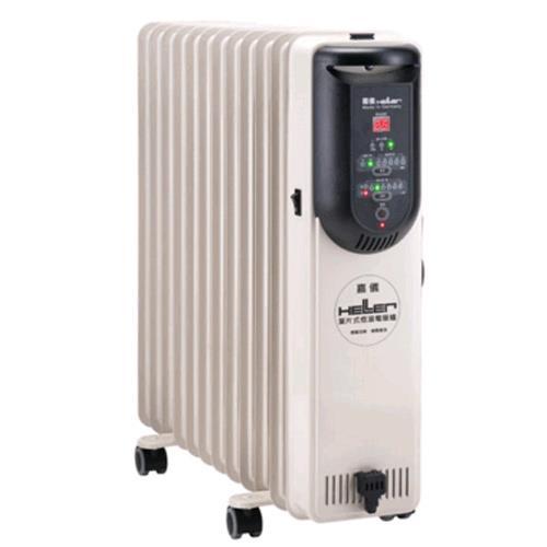 嘉儀HELLER 12片電子式葉片電暖器(KED512T)