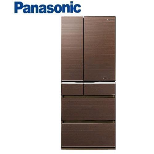 Panasonic 日本進口 601L六門冰箱 NR-F602VG-T1翡翠棕