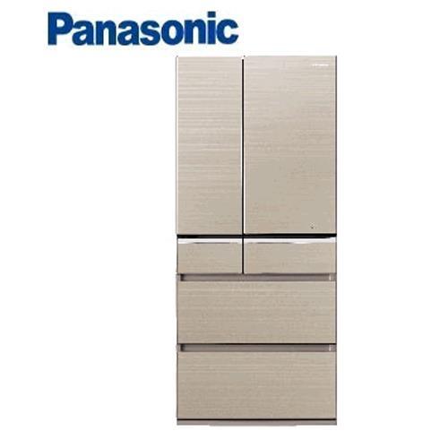 Panasonic  日本進口 601L六門冰箱NR-F602VG-N1翡翠金