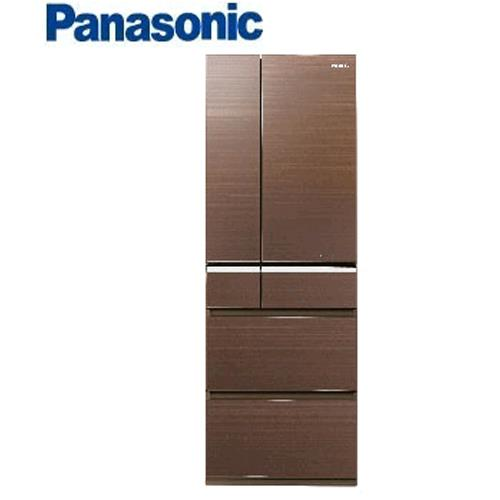 Panasonic 日本原裝 551L六門無邊框頂級變頻冰箱 NR-F552VG-T1翡翠棕