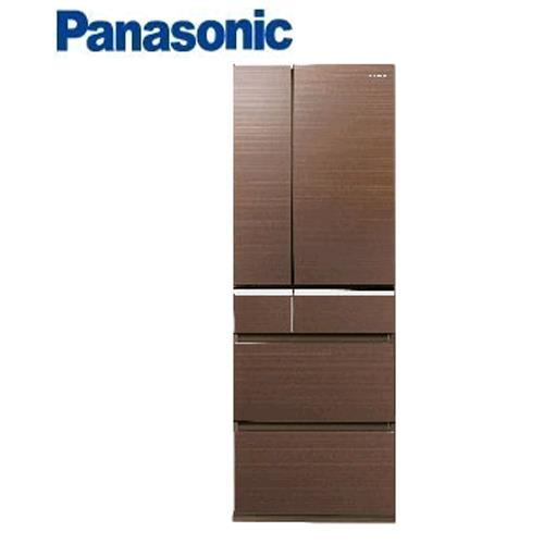 Panasonic 501L  日本進口冰箱無邊框NR-F502VG-T1 - 翡翠棕