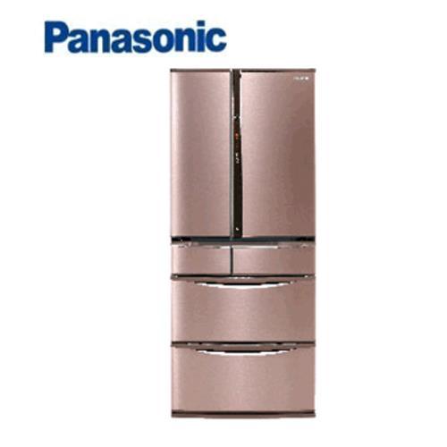 Panasonic  日本進口冰箱無邊框NR-F602VT-R1 - 玫瑰金