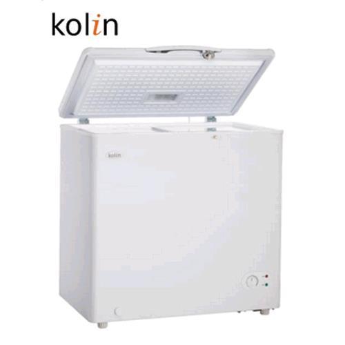 KOLIN 歌林KREL115F01-W/KR-EL115F01-W臥式冷凍櫃155L