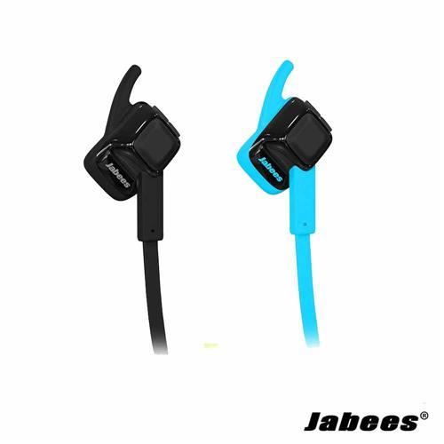 【二入組】Jabees beating 藍牙運動型耳麥-黑&藍