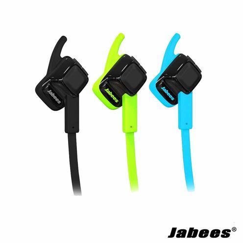 【三入組】Jabees beating 藍牙運動型耳麥-黑&藍&綠