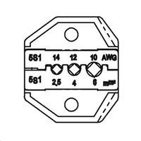 太陽能MC3端子口模AWG14/12/10 CP-5S1D