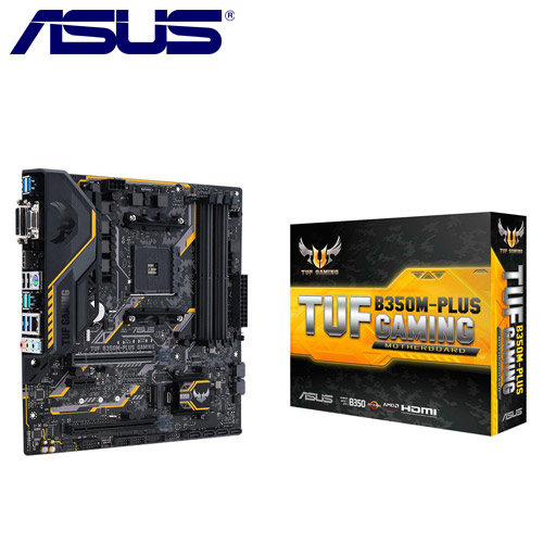 ASUS華碩 TUF B350M-PLUS GAMING 主機板