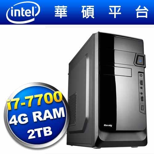 華碩H110平台【幻星鬥士】i7四核電腦【送內接式燒錄器+防毒軟體】
