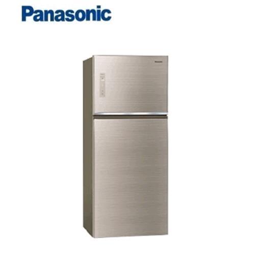Panasonic 422L 2門全平面無邊框玻璃電冰箱 NR-B429TG-N(翡翠金)