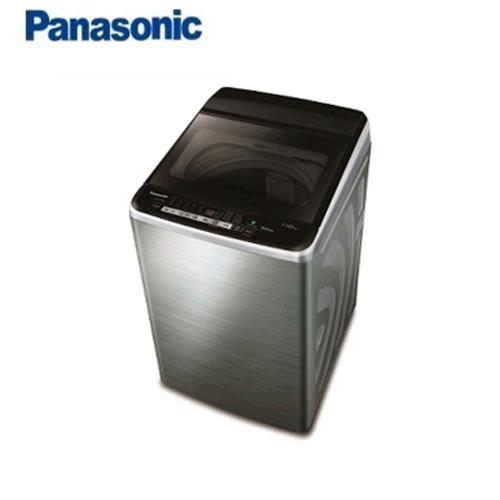 Panasonic 12KG直立式變頻洗衣機NA-V120EBS-S(不銹鋼)【93折送乾衣架 含運