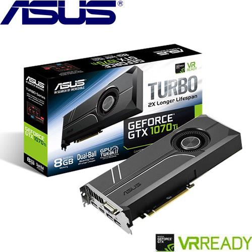 ASUS華碩 GeForce TURBO-GTX1070TI-8G 顯示卡