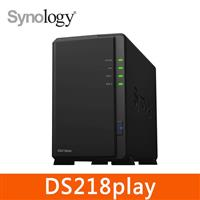 Synology DS218play 2Bay 網路儲存伺服器