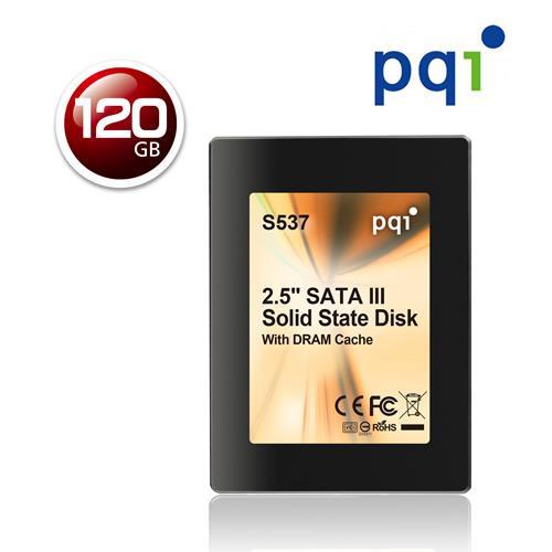 PQI S537 120GB 2.5 固態硬碟【下殺100↘送防毒軟體】