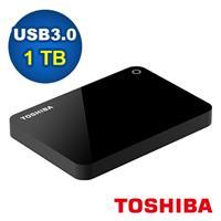 Toshiba 2.5吋 V9 1TB USB3.0 外接式硬碟 黑