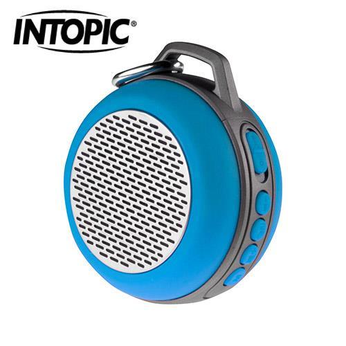 【新款上市】【INTOPIC】廣鼎 多功能炫彩LED藍牙喇叭 SP-HM-BT160-BL【1月精選特惠】