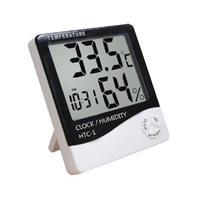 彰唯 室內 多功能大螢幕液晶溫溼度計